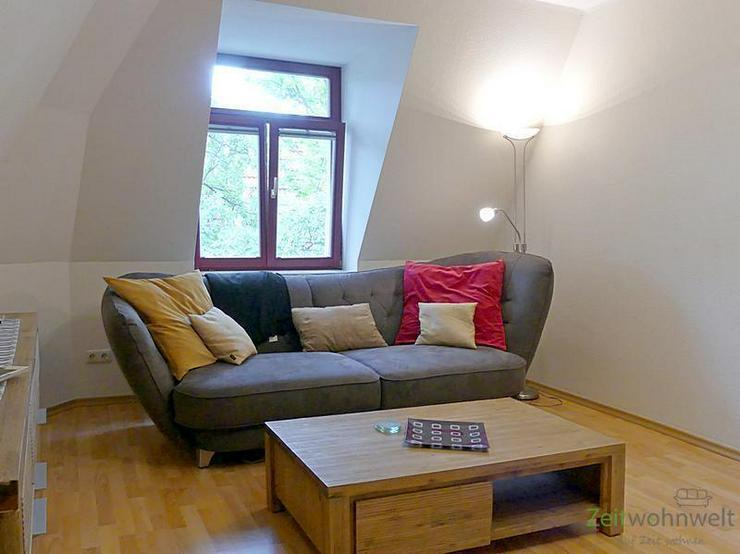 (EF0392_M) Dresden: Striesen-Ost, neu möblierte 3 Zimmer Dachwohnung in ruhiger Altstadtv... - Wohnen auf Zeit - Bild 1