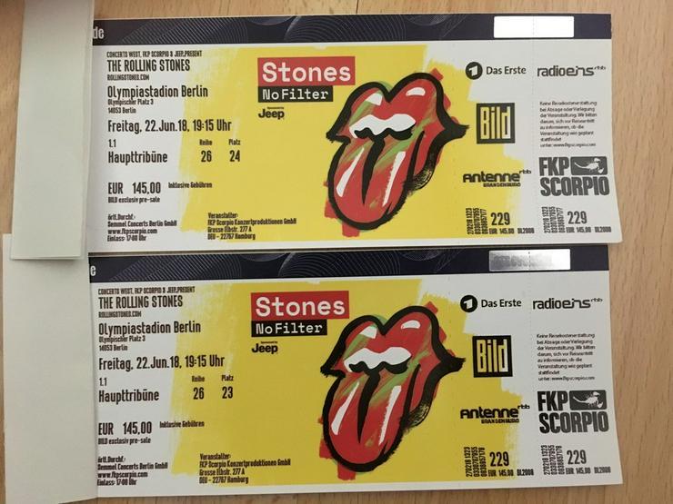 Rolling Stones Berlin 22.6 unter NEUPREiS !
