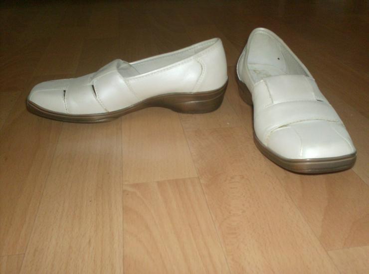 Ballerinas in weiß Größe 37