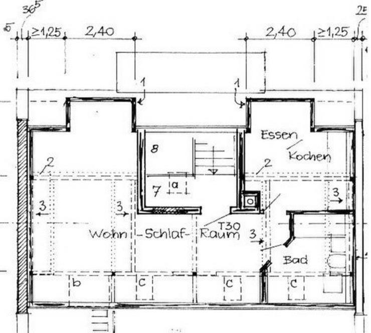Bild 3: Kleine gemütliche Dachgeschosswohnung in Leipzig-Altlindenau in ruhiger Seitenstraße