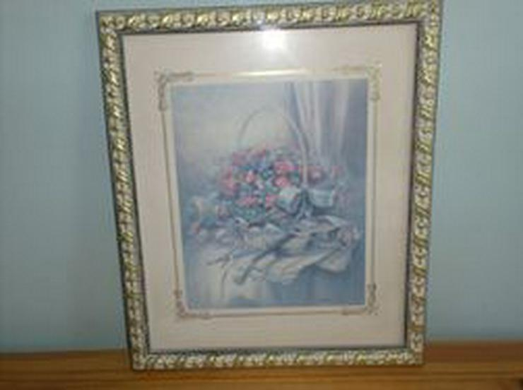Dekoratives Bild mit Blumenmotiv