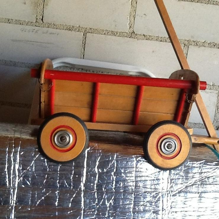 Holz-Leiterwagen aus den 50er Jahren