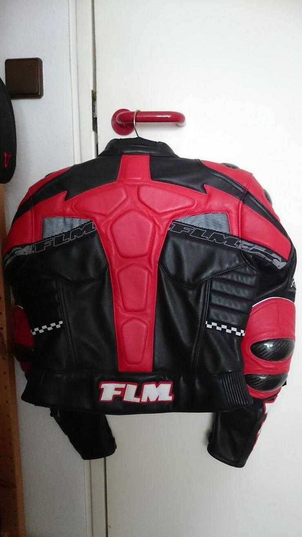 Bild 2: Motorrad Lederkombi Jacke Gr. 40 von FLM