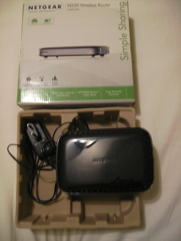 Netgear N150 Wireless Router+Netzteil in OVP
