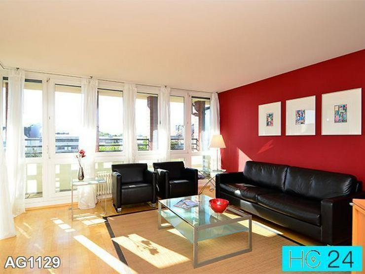 * ABSOLUTE CITYLAGE + möblierte Wohnung in Leipzig + BALKON + PARKETT