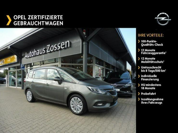OPEL Zafira 1.4 7-Sitzer Rückfahrkamera Parkpilot - Zafira - Bild 1