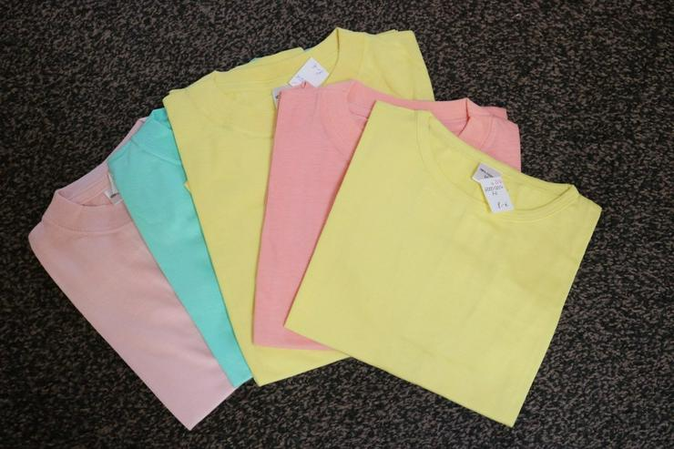 T-Shirts,5-er-Pack, Gr. 152, Mädchen, NEU