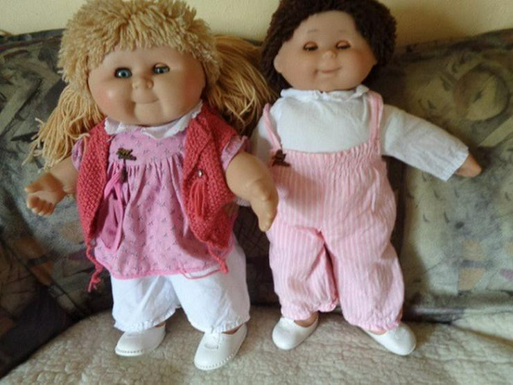 2 wunderschöne Puppen Zapf ca. 44cm+Sissy 48cm - Bild 1