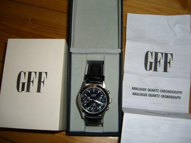 Uhr Hochwertiger Quartz Chronograph GFF OVP
