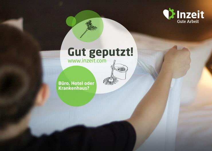 Zimmermädchen/Roomboy gesucht-10,30€ pro S - Reinigung & Housekeeping - Bild 1