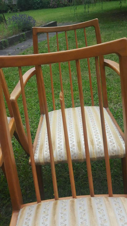 Bild 3: Stühle Esszimmer Stuhl Vollholz