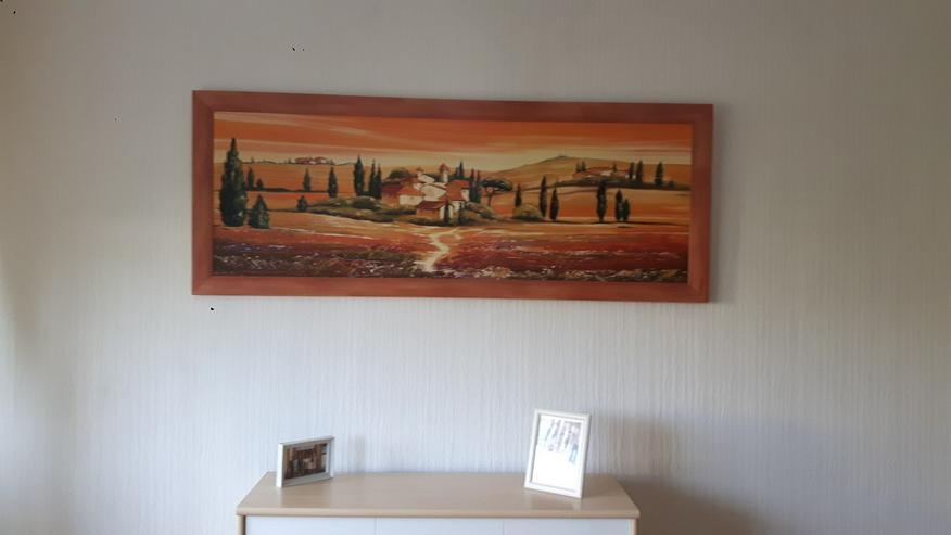 Bild 1: 2 große Bilder Wandbilder Toskana