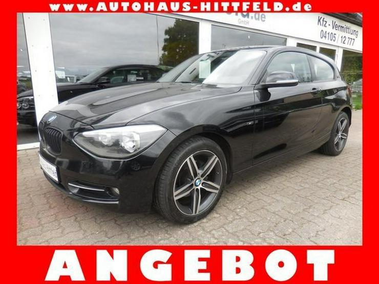 BMW 118 dAut >Sport-Line< Klima Tempo Bluet PDC Alu