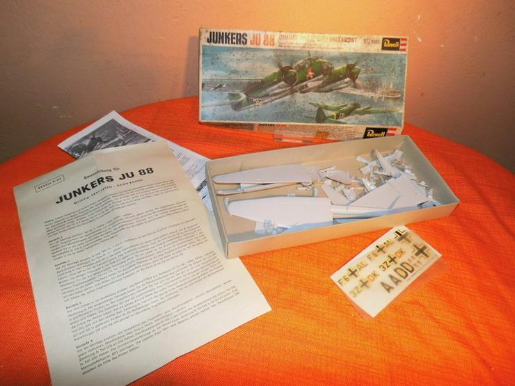 Modellbausatz Junkers Ju 88 von Revell Plastic - Modellflugzeuge & Hubschrauber - Bild 1