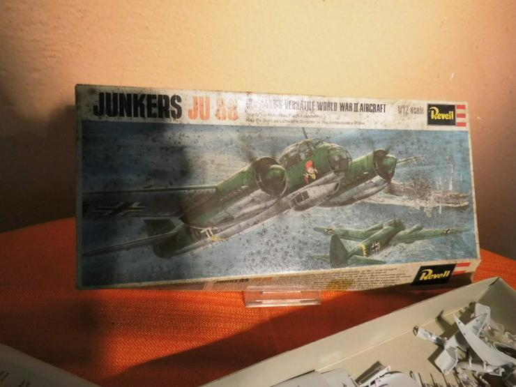 Bild 4: Modellbausatz Junkers Ju 88 von Revell Plastic