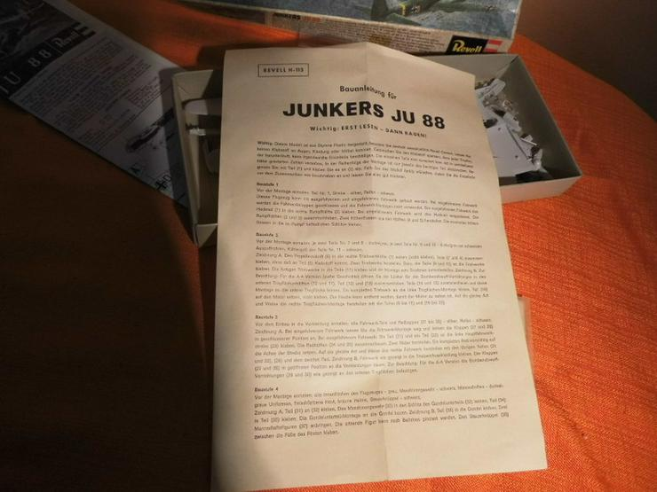 Bild 5: Modellbausatz Junkers Ju 88 von Revell Plastic