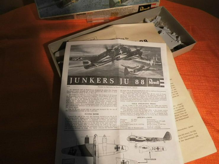 Bild 6: Modellbausatz Junkers Ju 88 von Revell Plastic
