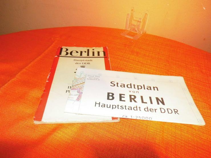 Alter Stadtplan von Berlin Hauptstadt der DDR - Bild 1