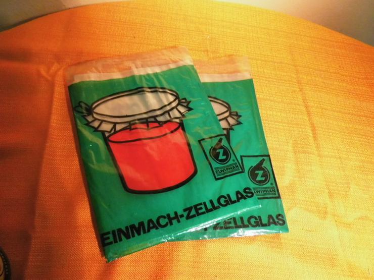 2 Tüten Elwiphan Einmach Zellglas a 0,5 qm / E - Vorratsdosen - Bild 1