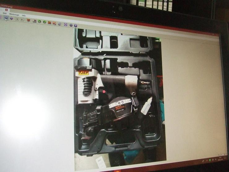 Druckluft Pappnagler - Maschinen und Werkzeuge - Bild 1