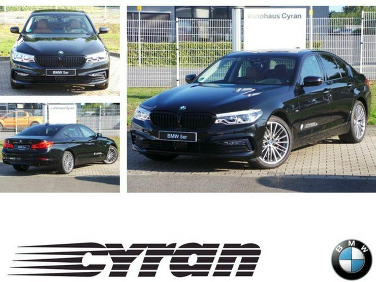 BMW 520d xDrive Sport Line Navi Prof HUD LED EU6