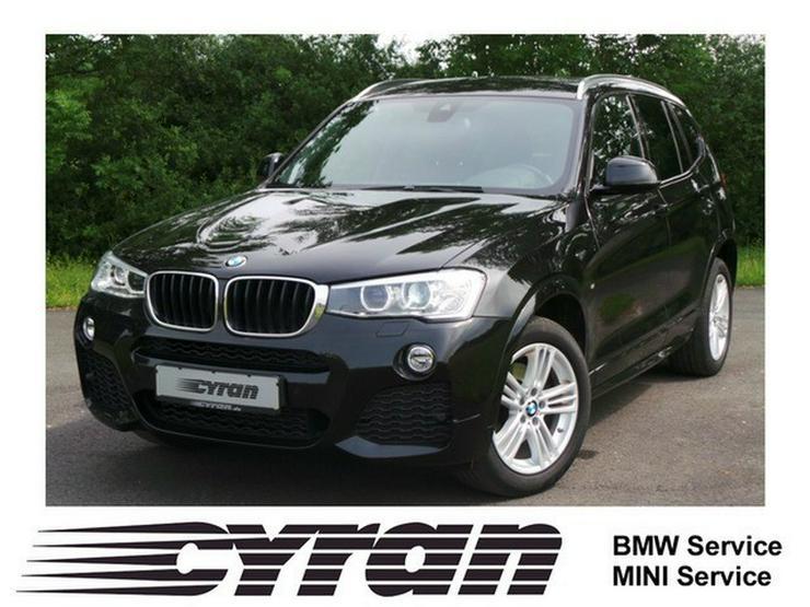 BMW X3 xDrive20d M Sportpaket Navi Prof. Klimaaut. AHK Xenon PDC