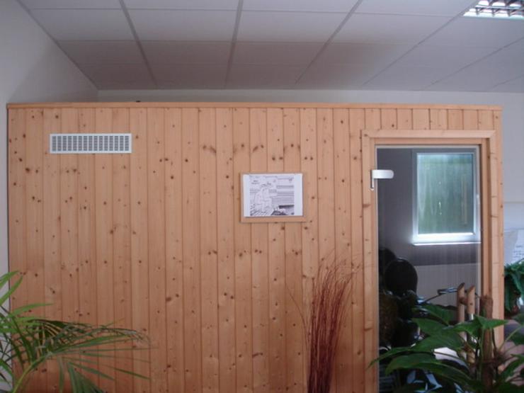 Bild 2: SAUNA und tiefenwärme in einer kabine