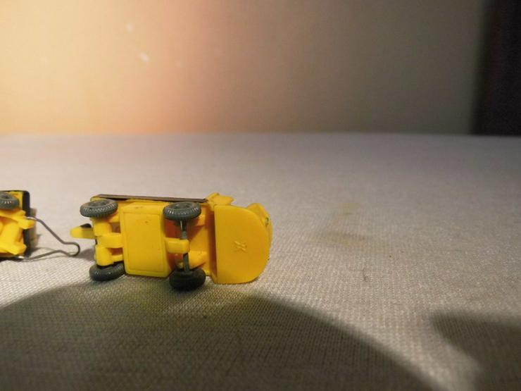 Bild 4: Dieselameise mit Hänger für Modellbahn H0 um 1