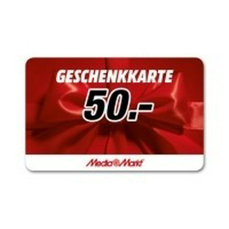 Media Markt Geschenk Gutschein Karte 2x50€