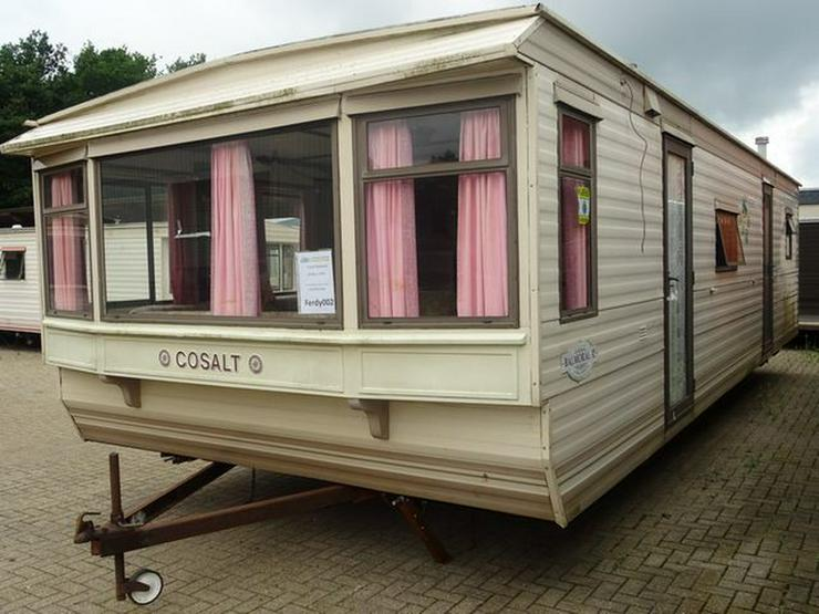 Cosalt Balmoral mobilheim wohnwagen dauercamp