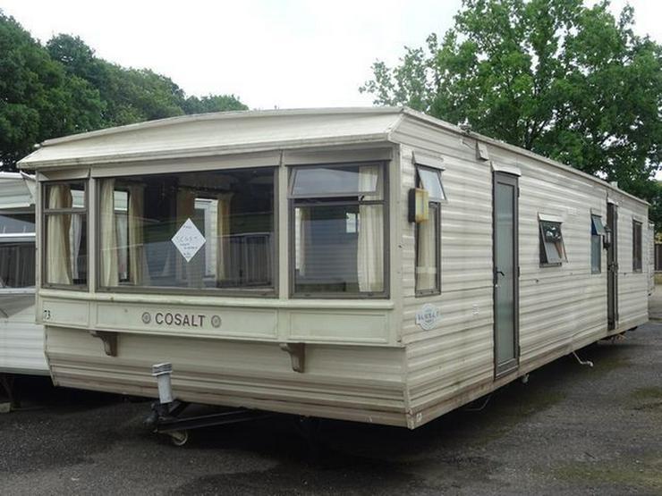 Cosalt Balmoral mobilheim wohnwagen mit arbeit