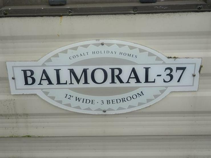Bild 2: Cosalt Balmoral mobilheim wohnwagen mit arbeit