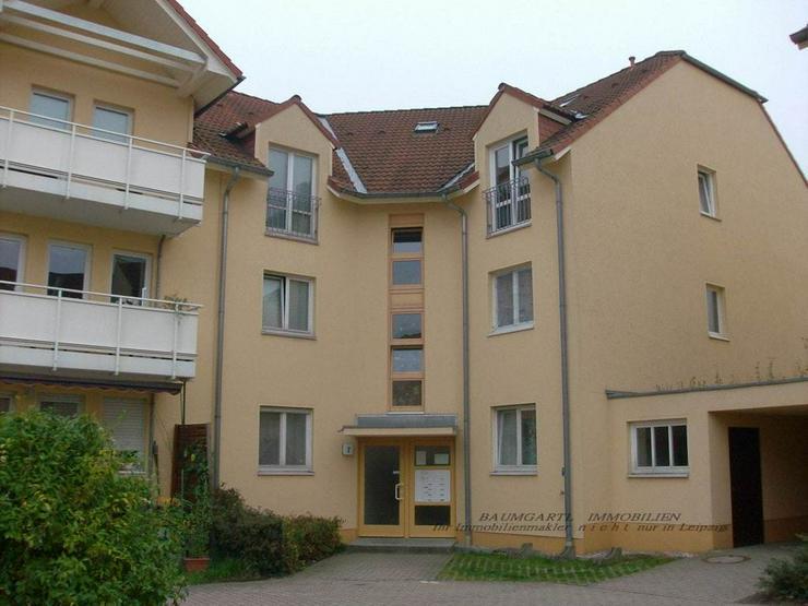 KAPITALANLAGE - in Leipzig Althen schicke kleine 1 Zimmerwohnung mit Terrasse und Stellpla... - Haus kaufen - Bild 1