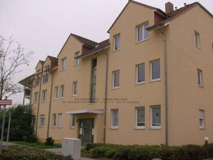 Bild 2: KAPITALANLAGE - in Leipzig Althen schicke kleine 1 Zimmerwohnung mit Terrasse und Stellpla...
