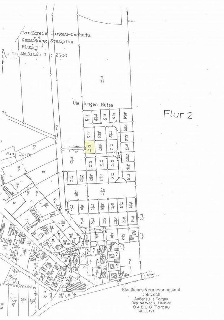 Bild 2: Preisreduzierung: Neubaugrundstück in beliebter, ruhiger Lage, in der Nähe von Torgau