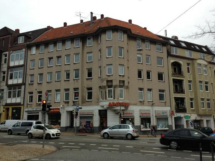 zentrale Stadtwohnung mit Balkon