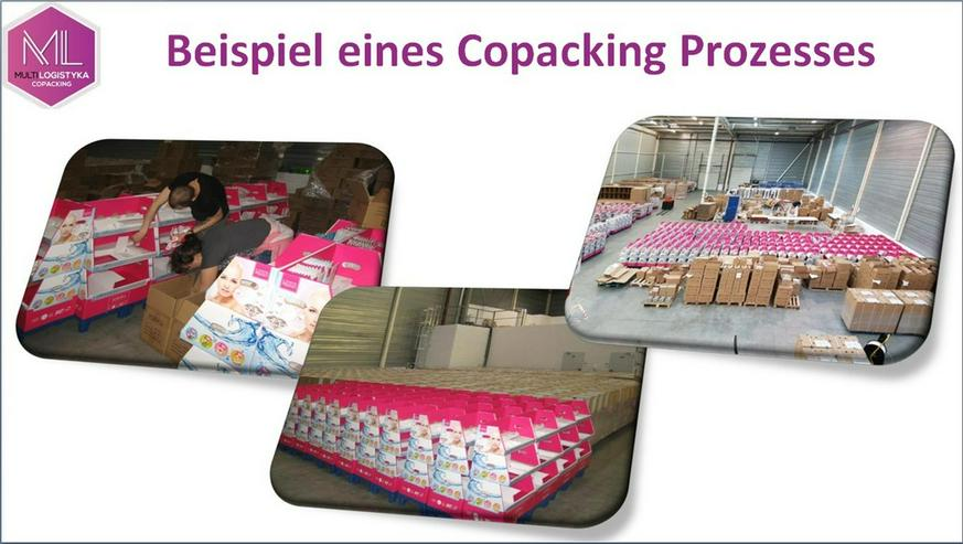 Bild 6: Umpacken Qualität gute Preise Lage bei Warschau