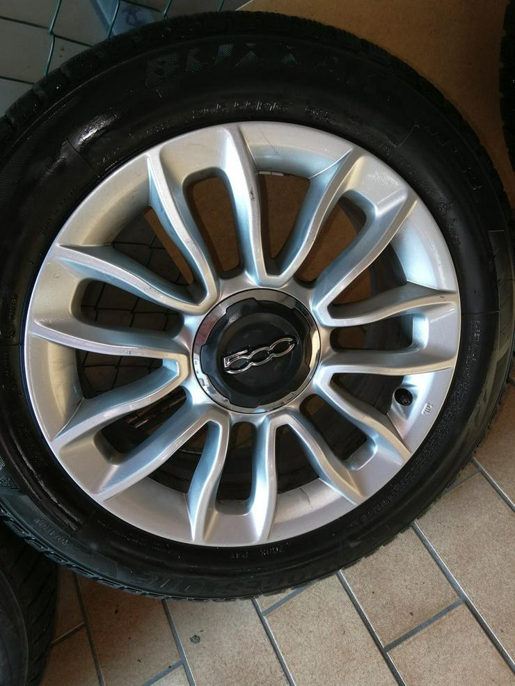 Fiat 500L Alufelgen mit Bereifung