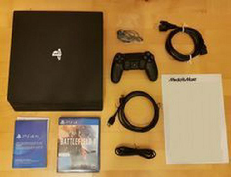 Ps4 Pro 1TB 2 Controller mit Restgarantie - PlayStation Konsolen & Controller - Bild 1