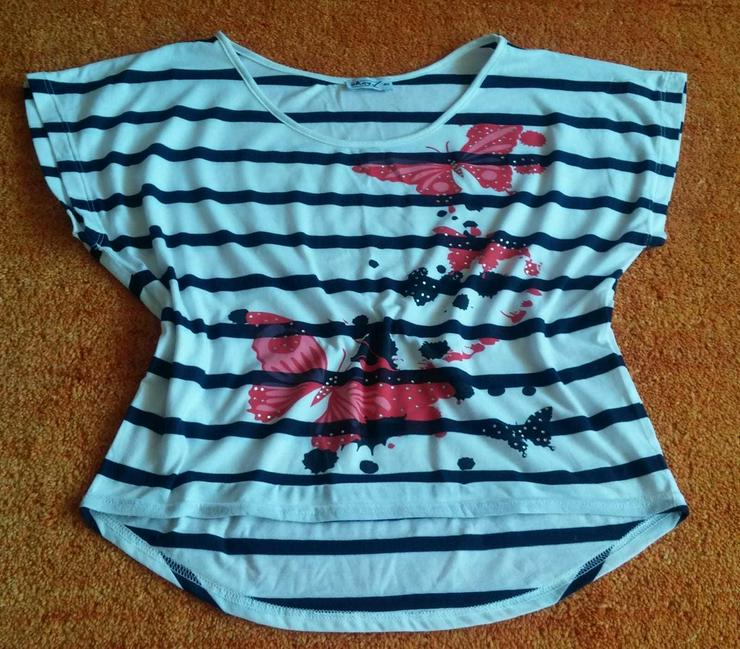 Damen Shirt Kimono Strassstein Verzehr Gr.40