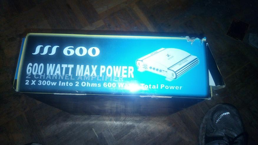2 Kanal Endstufe mit 600 watt - Bild 1
