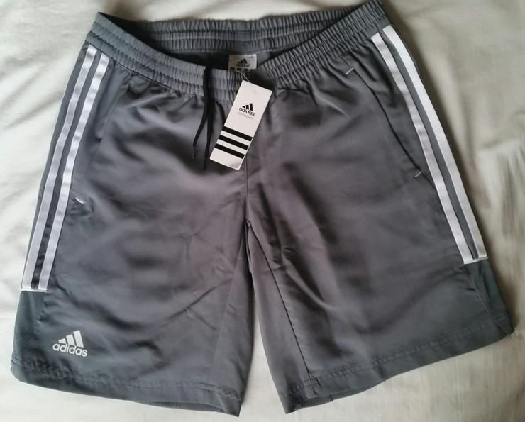 Adidas Damen Shorts in Grau Größe 38 Neu
