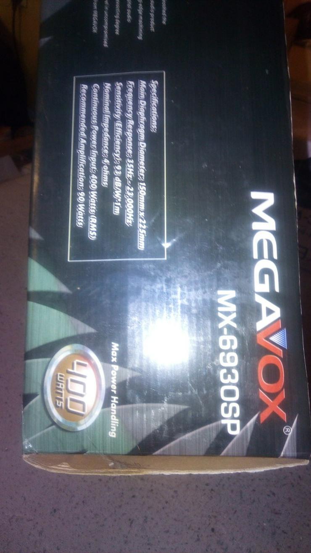 Bild 5: 2 Lautsprecher von megavox