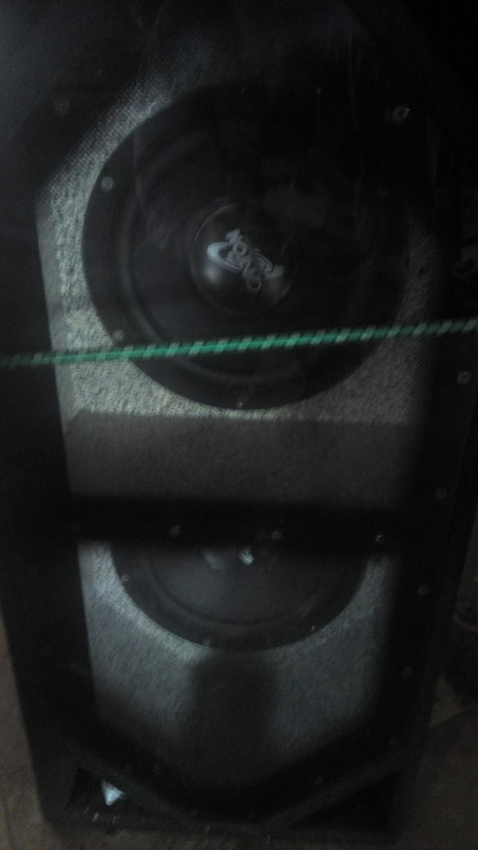 Bild 2: Bassbox mit Endstufe