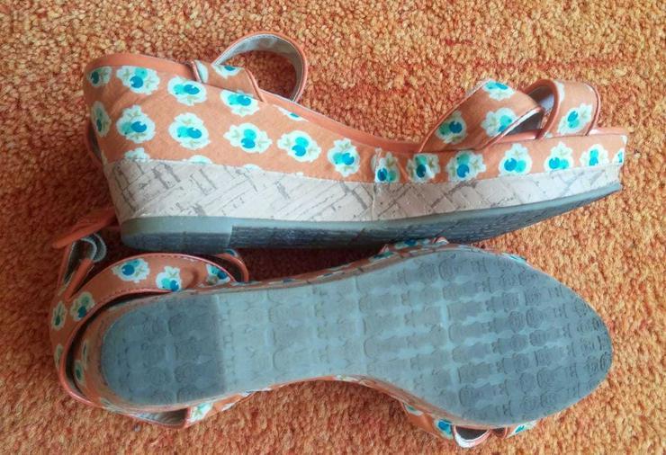 Bild 4: Damen Schuhe Plateau Sandalette Gr.38