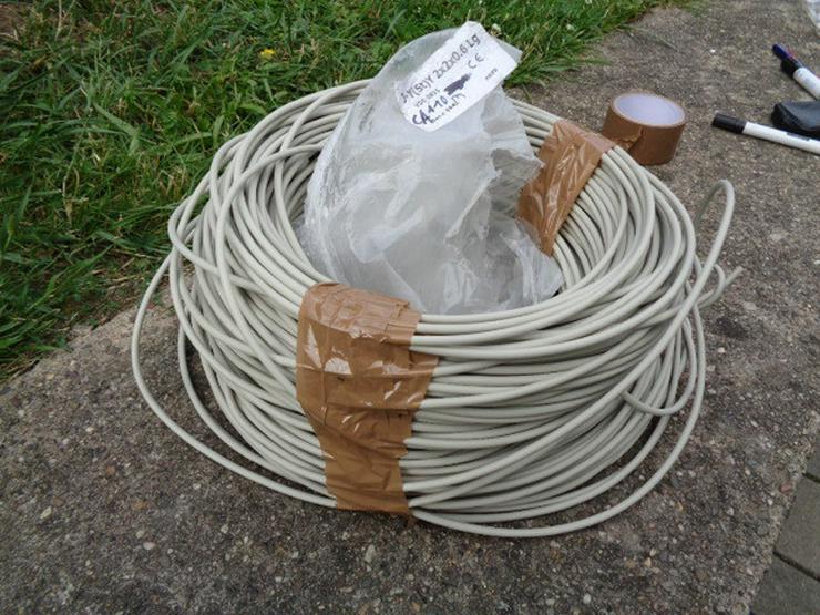 Kabel Rest ca. 110m J-y(st)y 2X2x0.6 Lg - Weitere - Bild 1