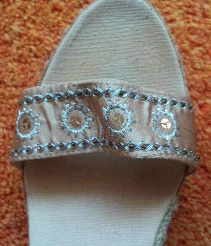 Bild 3: Damen Schuhe Riemchen Sandaletten Gr.38 NW