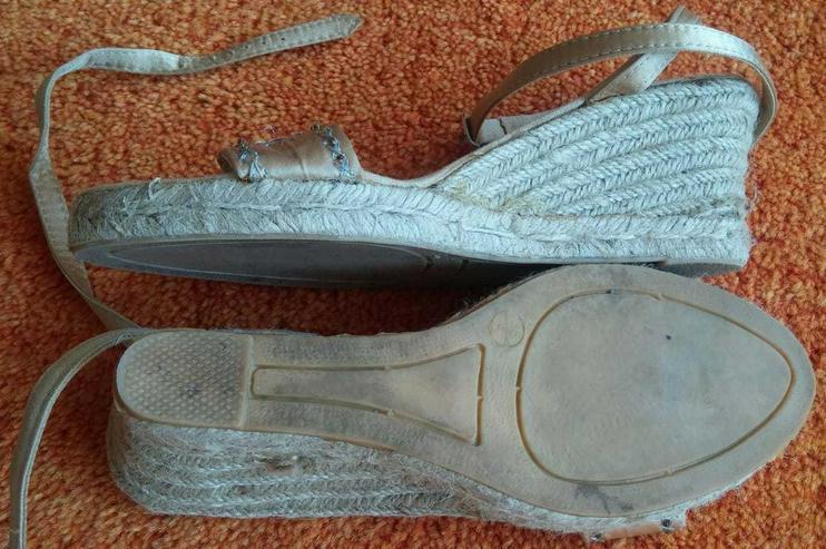 Bild 4: Damen Schuhe Riemchen Sandaletten Gr.38 NW