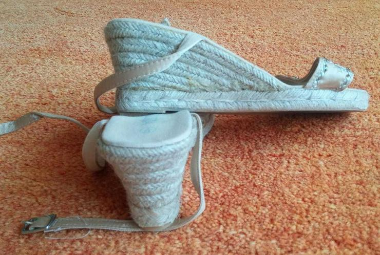Bild 5: Damen Schuhe Riemchen Sandaletten Gr.38 NW