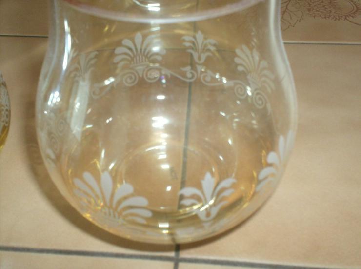 Bild 3: 2 schöne Teelichter aus Glas